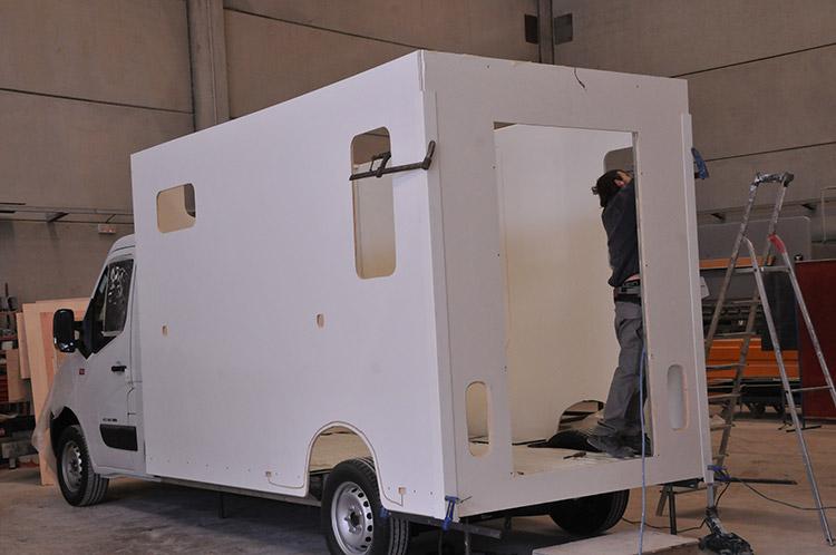 Carrosserie Ameline desarrolla diversos tipos de vehículos para transportar sus caballos