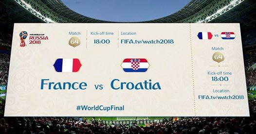Bientôt les résultats de la Coupe du Monde de foot 2018
